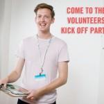 Volunteers Kick Off Party!