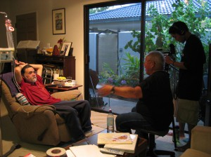 A Song For Ourselves Production Still - Robert Nakamura & Tadashi Nakamura Interview with Chris Iijima