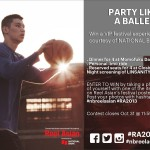 Party Like a Baller at Reel Asian!