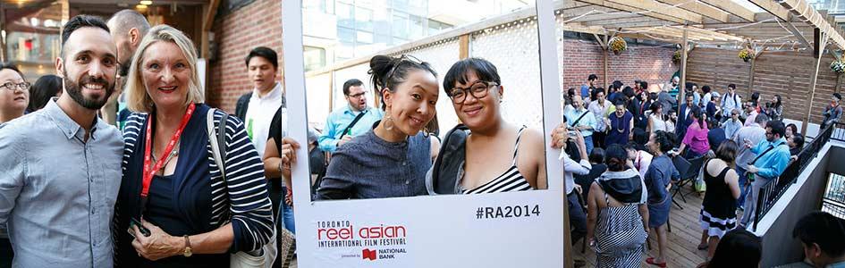 Reel Asian's TIFF Reception was a Big Success!