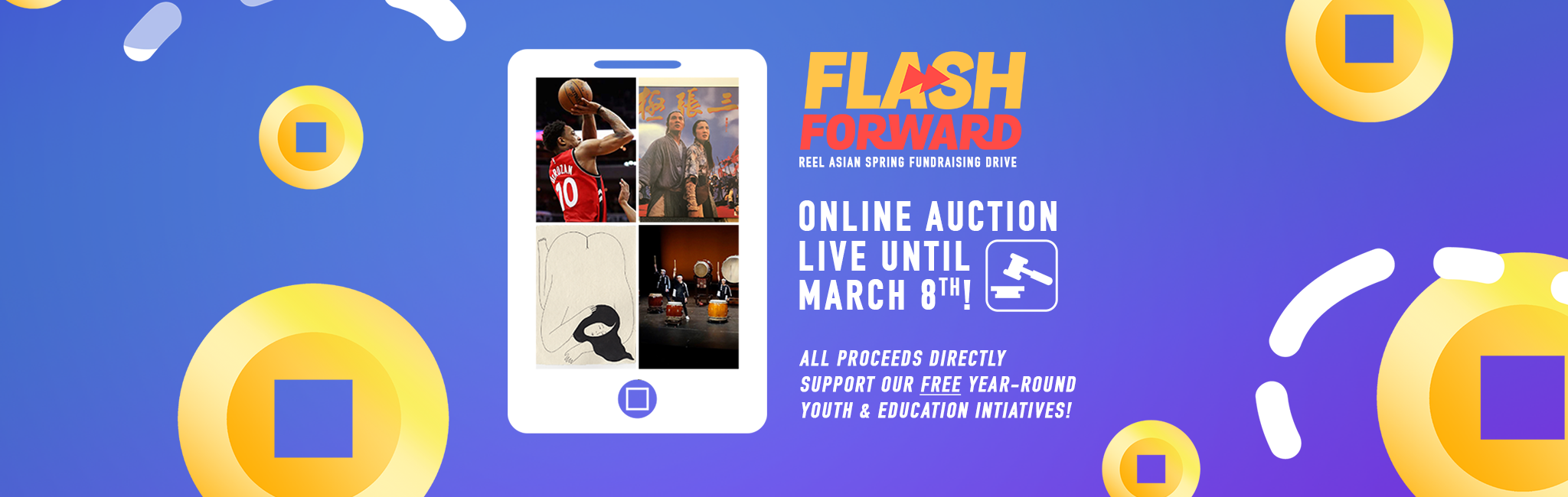 Our Flashforward Online Auction is now LIVE!