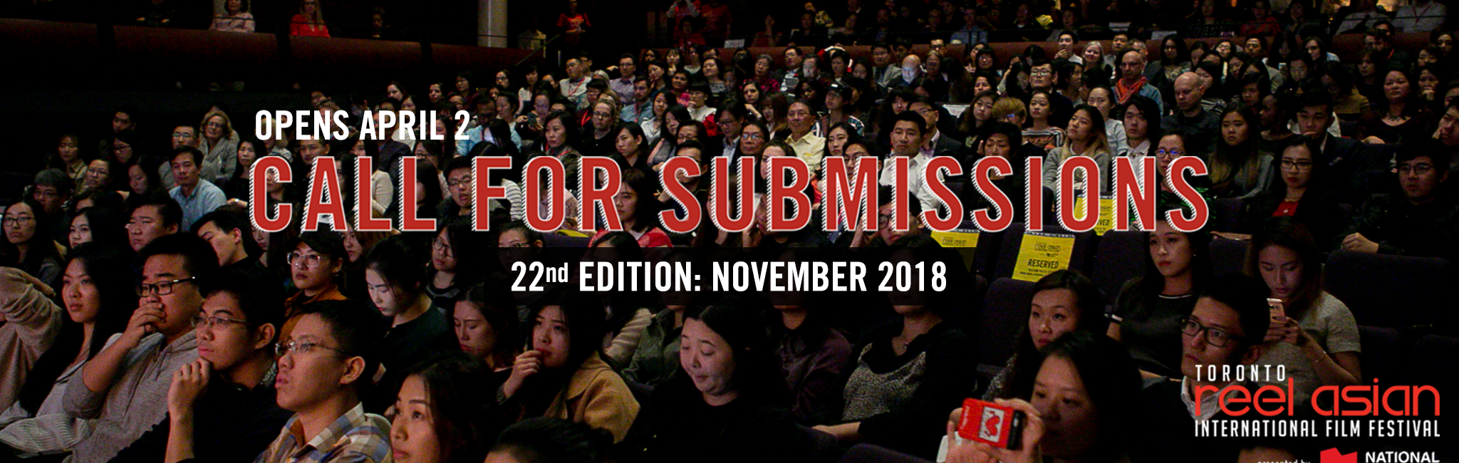 2018 Call For Submissions now OPEN!