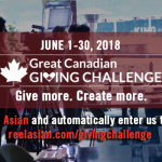 The Great Canadian Giving Challenge: Donate to Reel Asian and help us win!