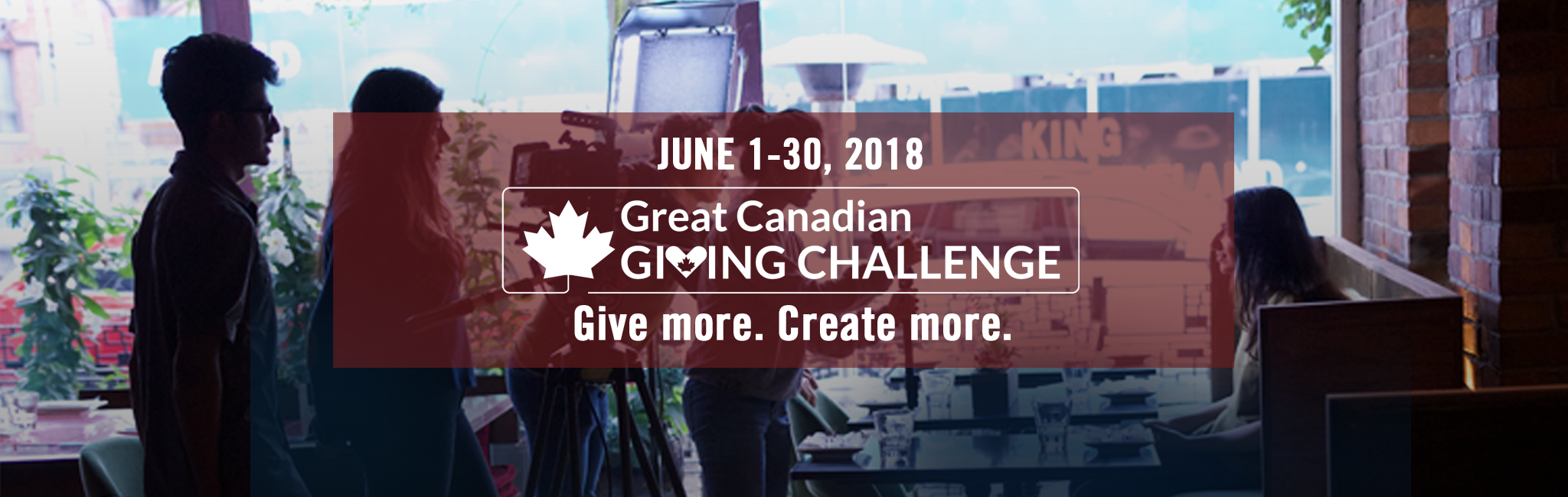 Great Canadian Giving Challenge 2018
