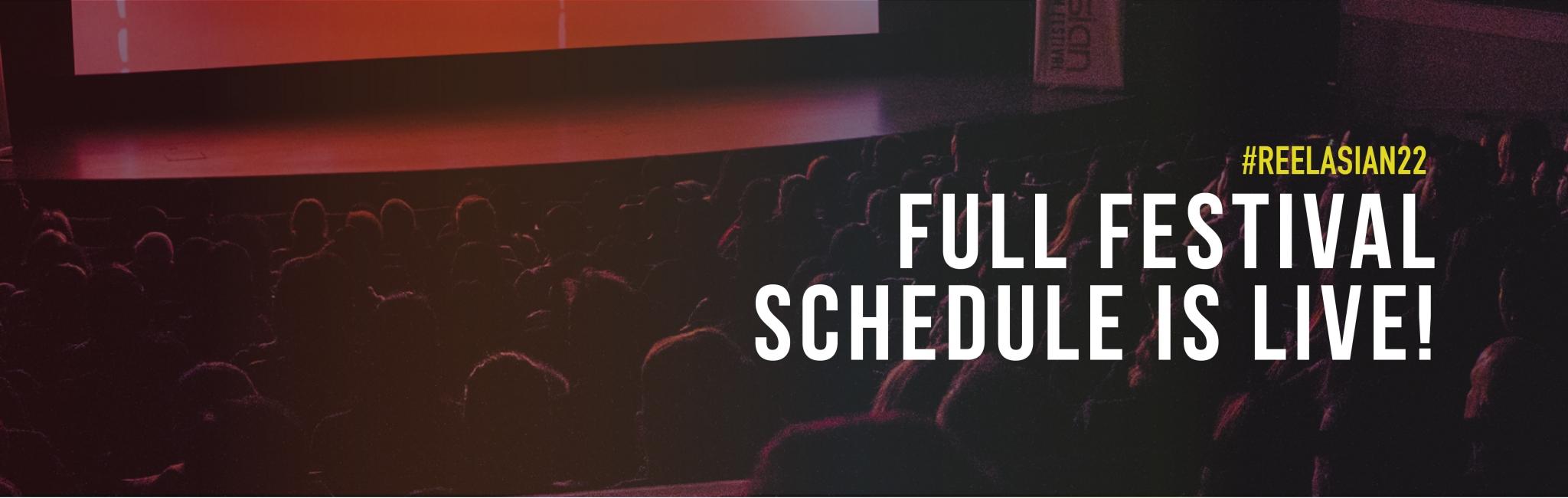 Full Festival Schedule Annoucement