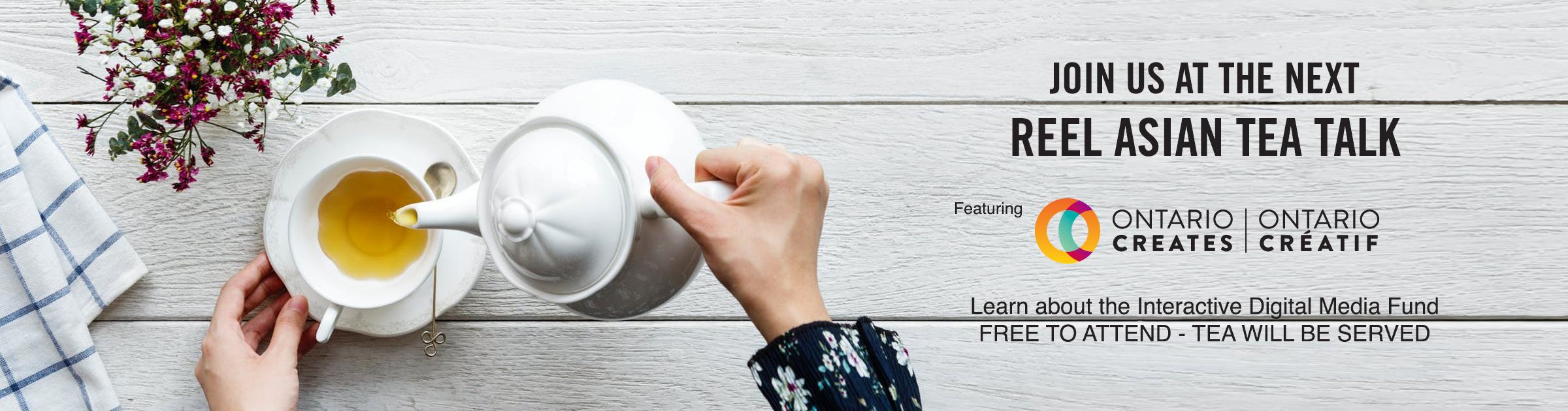 Tea Talk Website Banner