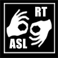 Real-time ASL intepretation symbol