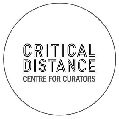 Critical Distance Centre for Curators Logo